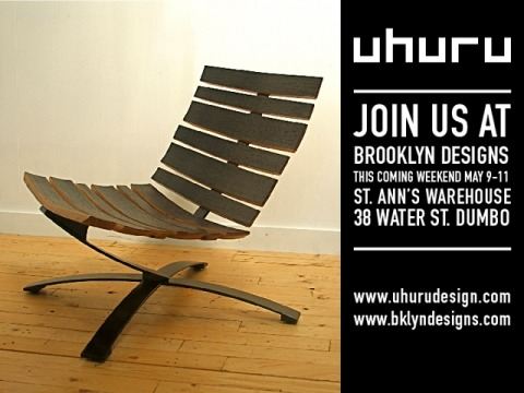 Please come and check out a brand new line of furniture from uhuru made  from reclaimed bourbon barrels. Hours are-  Friday 10a-8p, Saturday 10a-7p, and Sunday 11a-6p.