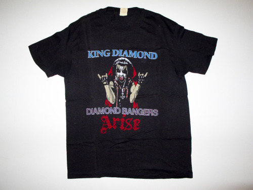 KING DIAMOND tour shirt