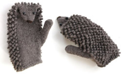 kedamano:  hedgieshedgieshedgies:  Hedgehog Mittens KnitKit, from Morehouse Farm Merino