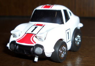 Toyoddity Advent Day 9: Cute Classic Car - fun-size 2000GT race car