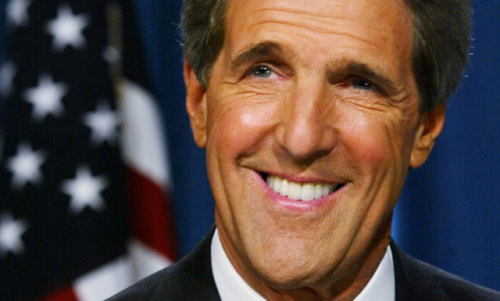 "One well-known dude in Obama's compromise corner: John Kerry Obama can count on one influential Democrat in his corner. Problem is, it's John Kerry, who's as exciting as vat of ketchup. OK, now that we've gotten the veiled insult at his wife out of his way, let's see what he has to say about the compromise: ""The truth is, the President got a lot of things here we've been fighting for that we haven't yet been able to win any other way."" It's one of a number of messages that the White House has been distributing tonight. We have to emphasize, though, that we're with Andrew Sullivan on this one: It's frustrating to see Obama compromise, but he's playing a pretty good game of handball with the GOP in making this compromise. source Follow ShortFormBlog"