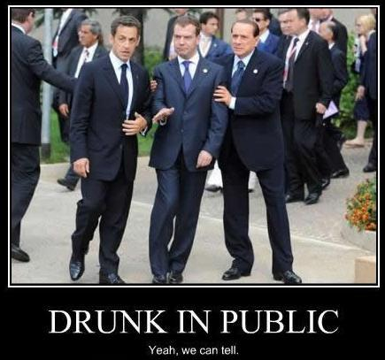Drunk Heads of State