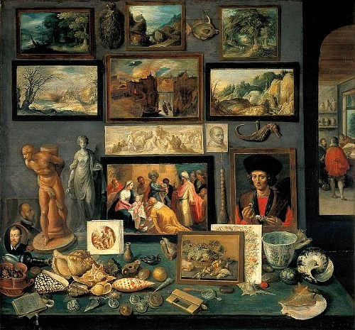 Frans II Francken Collector's Room  1620-25