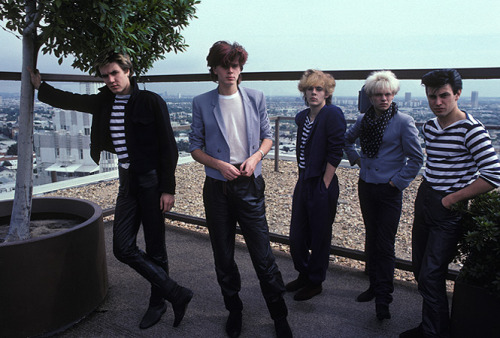 It would be really groovy if Duran Duran reunited with the year 1982 nomnom