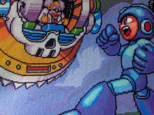 it8bit:  Mega Man 7 Cross Stitch  - by Karma-Pudding (via:gamefreaksnz)