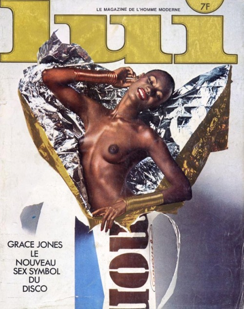 singerssluttingitup:  Ten Originators (10/10): Grace Jones  I'm literally speechless…