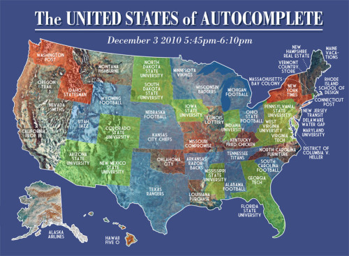 The United States of Auto-complete