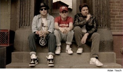 Seth Rogen, Elijah Wood and Danny McBride as The Beastie Boys (PHOTO) - The Moviefone Blog