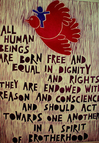 TODAY IS A DAY FOR CELEBRATION! HAPPY HUMAN RIGHTS DAY!