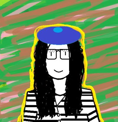 My brother made a picture of me, for me! :)