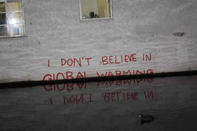 banksystreetart:  I don't believe in global warming