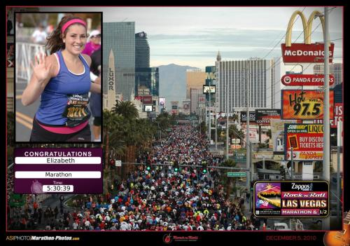 Smile-Friday Twinkle Stars: Las Vegas Full Marathon Edition[prepare yourself for yodels and yodels of photos today on One Twenty Five, as I just got the official race ones, and some? some are hilarious. Ps look at how SKINNY I look in this one, and Hmmm McDs]