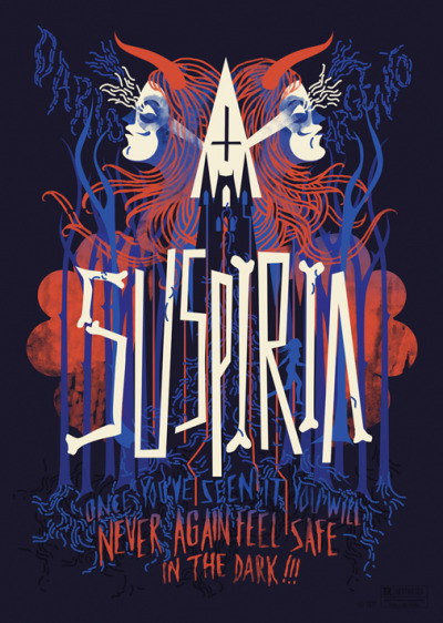 Poster art for Dario Argento's classic Suspiria(1977).' Unfortunately I don't know who the artist behind this is, if you know, message me!