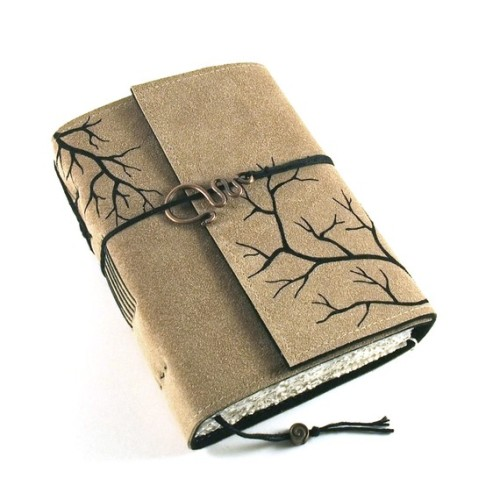 valscrapbook:  thewrinkle: handmade journal with distressed pages, kreativlink on Etsy