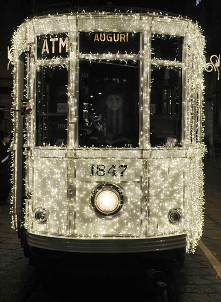 bbook:  Christmas Tram in Milan | AnOther | Loves
