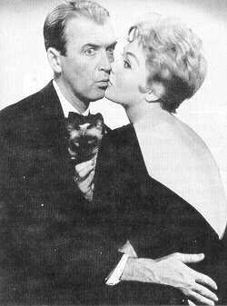 james stewart + kim novak