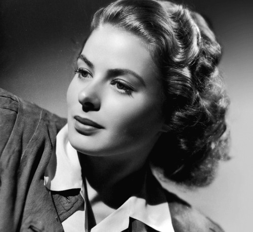 lucynic83:  Ingrid Bergman  One of the reasons I love Casablanca so much :)
