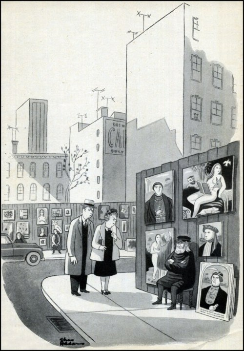Charles Addams — The New Yorker — October 10, 1953 [***]