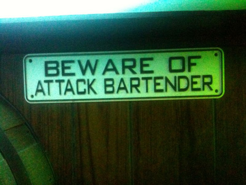Bridging the bartender-security guard divide.