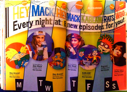 Hey Mack Hey Mack Kablam Rats Woo!  Every night at 8, new episodes for you! (1997)