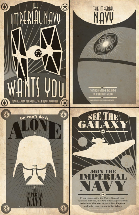 dbsw:  Star Wars Propaganda // by Steve Squall (via pacalin)