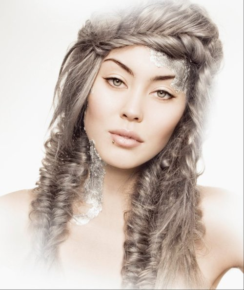 "hairdresserrempel:  I.DABURN SALON ""METALLICS"" COLLECTION WINTER 2010 HAIR: MELISSA LEACH MAKEUP: TAMAR OUZIEL [http://tamarouziel.wordpress.com] PHOTOGRAPHY: LIZ ROSA [http://lizrosaphoto.ca] MODEL: SAM AT RADKIDS"