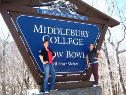 Spring break 2008: After leaving Wesfest, the fam drove up to VT and stopped at Middlebury… A sign of what was to come? CONGRATULATIONS TO MY BRILLIANT DRIVEN TALENTED BEAUTIFUL LOVELY SISTER MADELINE ROSE BERKMAN: Middlebury Class of 2015! (seriously Mad, be younger…)