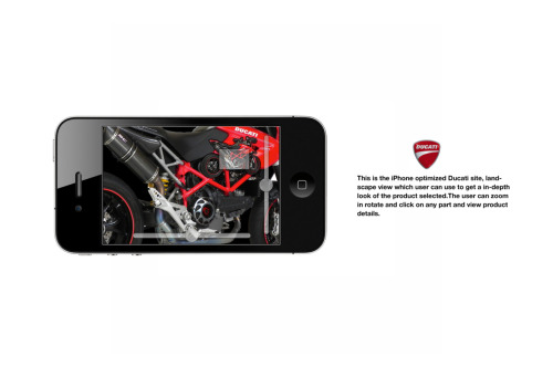 2nd concept for the ducati site…
