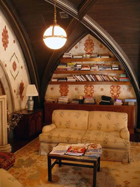 And this will be my attic, or the second floor reading room.