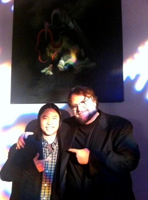 This is James Jean and Guillermo Del Toro, your argument is beyond invalid.