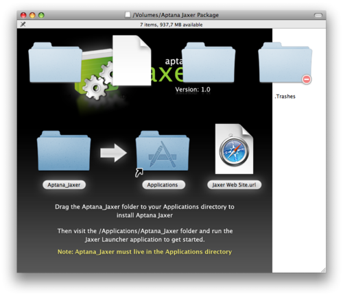 "Many OS X DMG installers have some ""landing page"" where you open the disk image and they have some nice background image and some other icons that you can interact with, to drag into Applications folder etc. And these layouts completely break when you have people like me who have the advanced ""Show hidden files in Finder"" option turned on, which magically starts showing other (hidden) folders that completely break the layout."