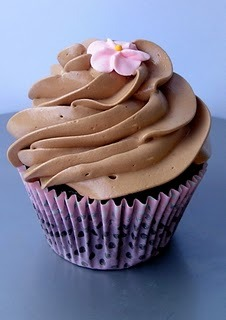 Chocolate Chambord Cupcakes 6 tablespoons of flour 5 tablespoons of