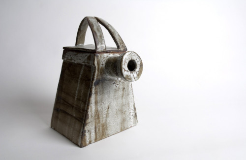 Celeste Bouvier: Abstract Pyramid Teapot