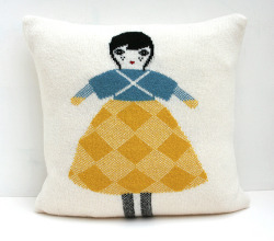 Adorable pillow by Le train fantome