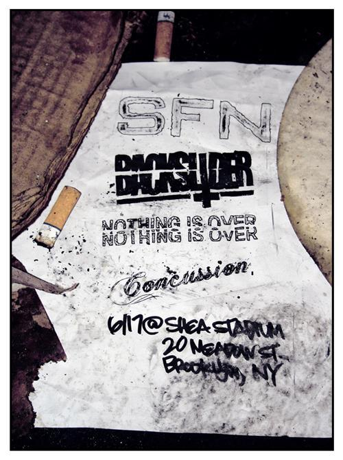 06/17/10 - SFN, Backslider, Nothing Is Over, Concussion @ Shea Stadium