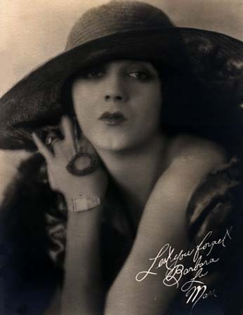 vintageangels:  Barbara La Marr, the girl who was too beautiful.