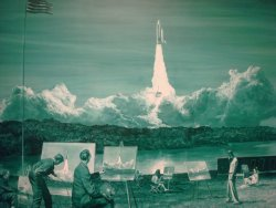 ihatemusic1943:  Mark Tansey, Action Painting II, 1984