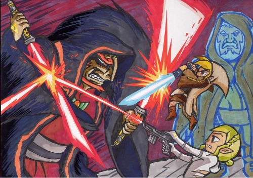 svalts:  Star Wars + Zelda // by Johan S.