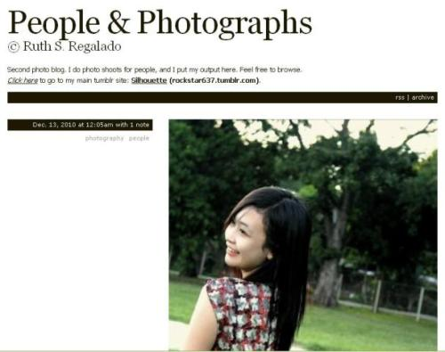 Hi guys! I now got a separate blog for photo shoots I do for people. I have just started this out. Feel free to visit and follow. I do follow back. CLICK HERE: People & Photographs Thanks a lot! Keep safe everyone!