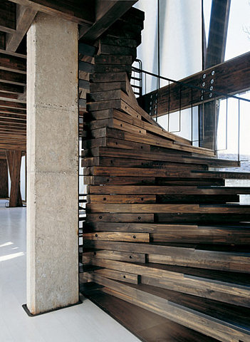 marysoul:  Cool staircase! (via M O O D)