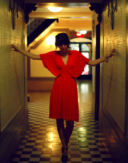 Red Dress Model: Jennifer Beaty Randolph @ Q