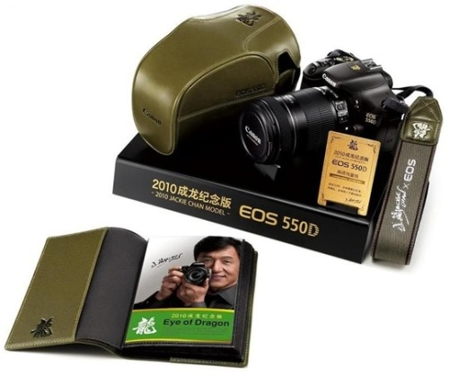 Love Jackie Chan? Love DSLR's? Well then here you go! =)
