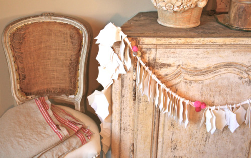 anthropologie inspired garland… StUnNiNg! :)