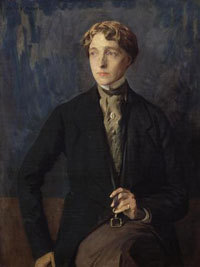 English novelist and poet Radclyffe Hall (born Marguerite Radclyffe-Hall), author of lesbian novel The Well of Loneliness.