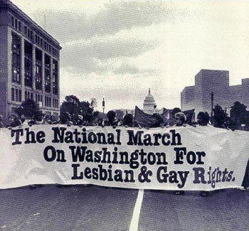 First march on Washington for queer rights, 1979.