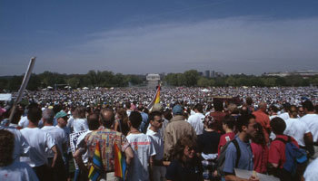 March on Washington for queer rights, 1993.