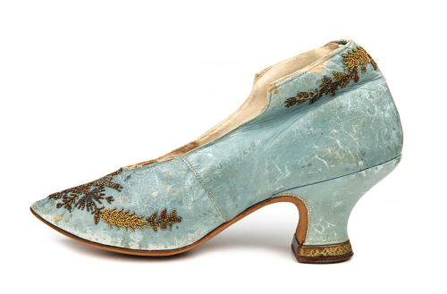 Louis Heel Pump | c. 1880-1890