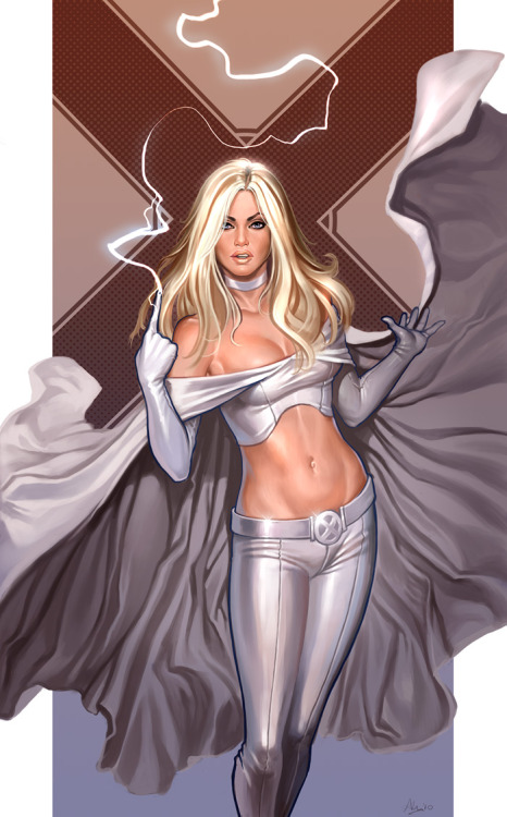 Emma Frost by Amy Fell