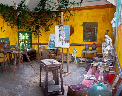 Monet's Studio blogged about @ boho mystic