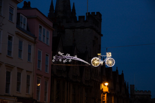 Christmas Bicycle Lights (via Naturally Cycling Manchester)